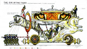 The eye of the tiger transp